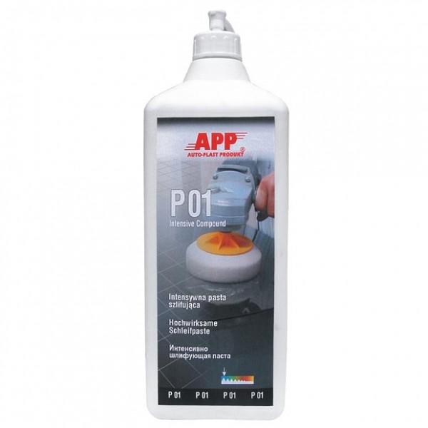 P01 Schleifpaste intensiv, silikonfrei APP - 1,5kg