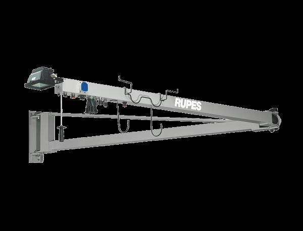 RUPES HF 6000 Schwenkarm mit Beleuchtung und pneumatischer Schaltung
