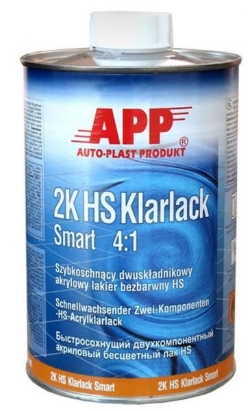 2K-HS Klarlack Smart 4:1 APP - 1L