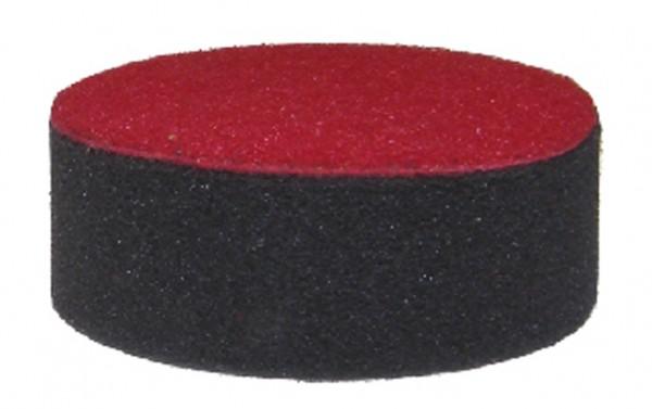 Polierschwamm 75mm klett APP schwarz - ultraweich APP