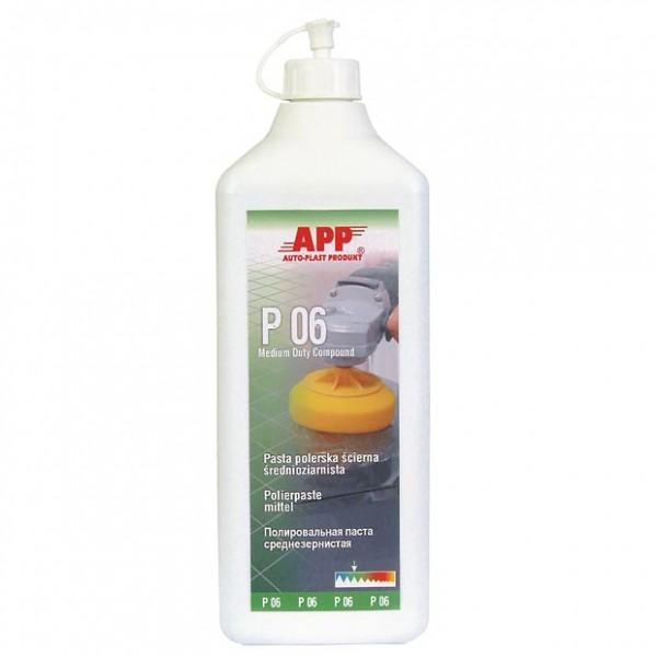 P06 Schleifpolitur mittelgrob silikonfrei APP - 1L