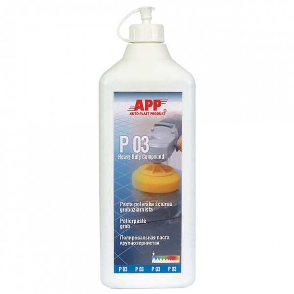 P03 Schleifpolitur grob silikonfrei APP - 1,2kg