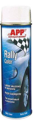 Rally Color Acryl-Lackspray weiß glänzend APP