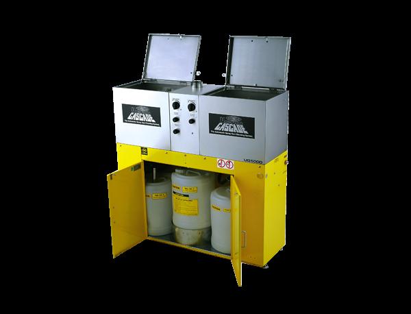 Uniram UG 5000W Waschanlage mit Abzug für zwei Spritzpistolen für Wasser - und Basislacke
