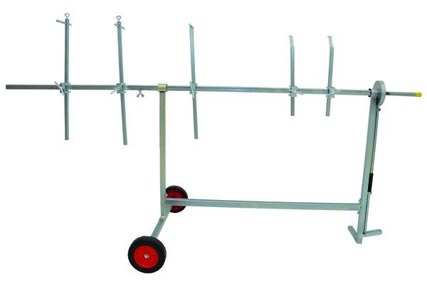 Lackierständer mit Verlängerung Paint Trolley Flexi Plus CS